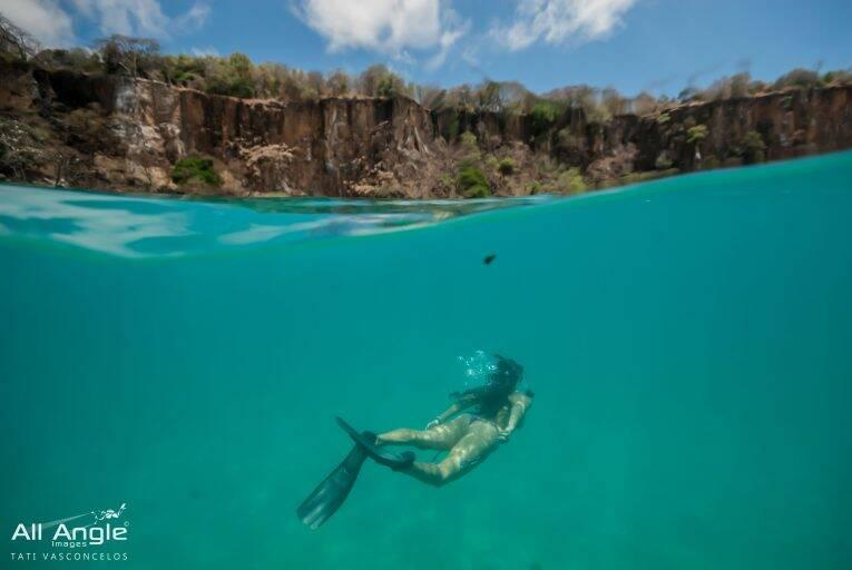 Foto feita pela All Angle, empresa que fotografa no barco do passeio em Noronha.