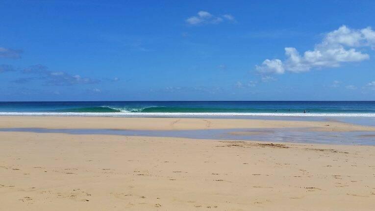 A Praia do Americano em Noronha.