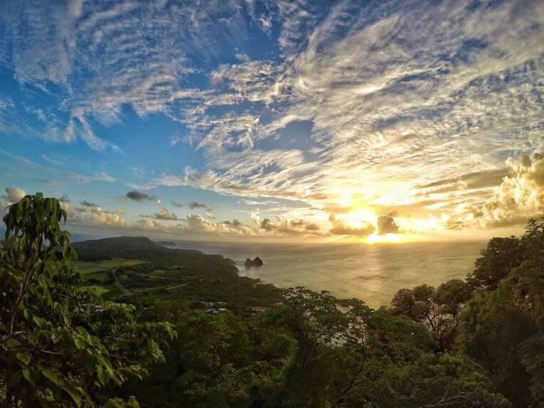 Vista do Morro do Pico (Piquinho).