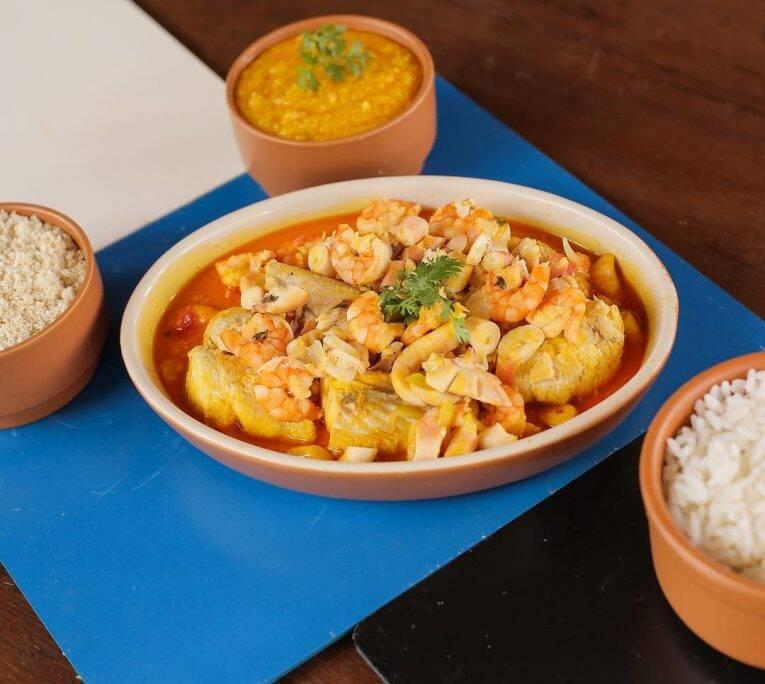 Moqueca de frutos do mar do Restaurante Tricolor. | Foto: divulgação