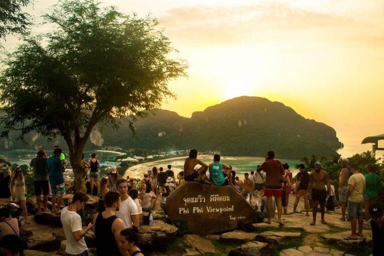 Pôr do sol Phi Phi