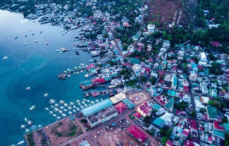 Coron depois da chuva – Palawan, Filipinas