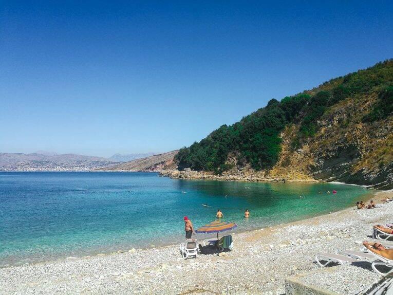 Monastir beach, O que fazer Saranda.