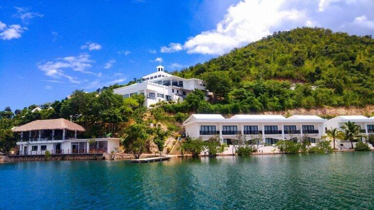 Estrutura do Busuanga Bay Lodge.   Foto: divulgação/booking.
