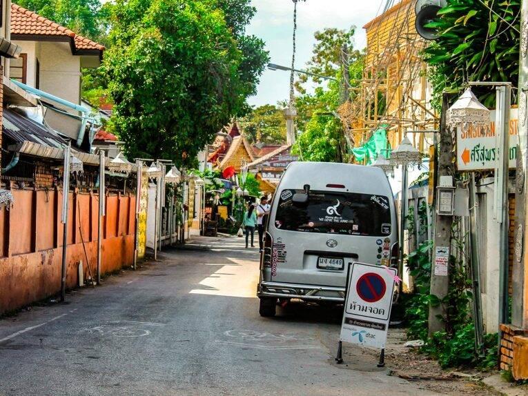 Ruas da cidade de Chiang Mai. | Foto: @naproadavida