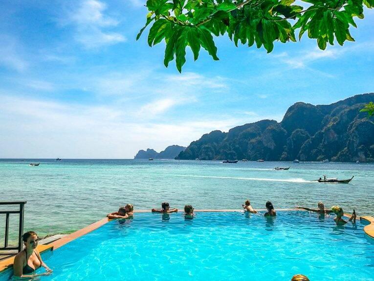 Praias de Phi Phi na Tailândia