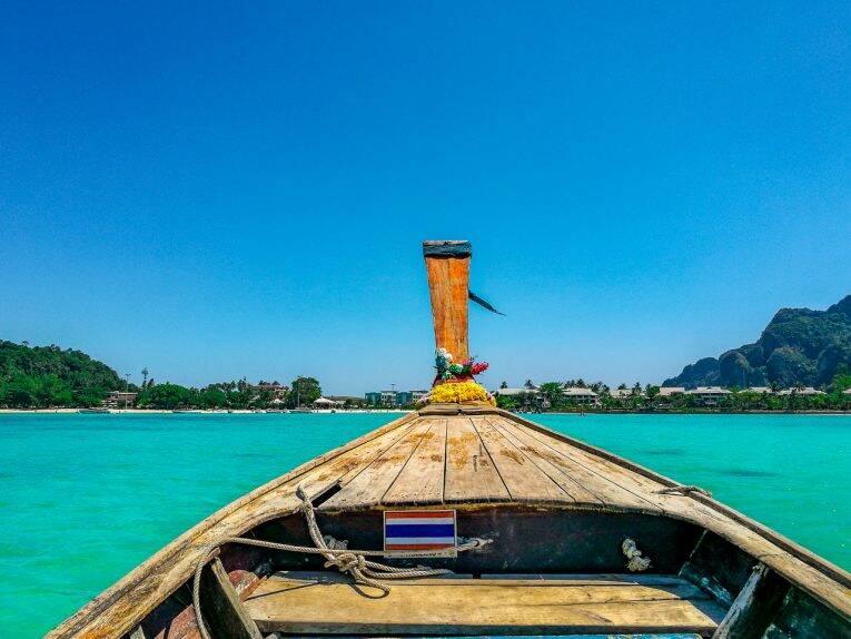 Como chegar em Phi Phi