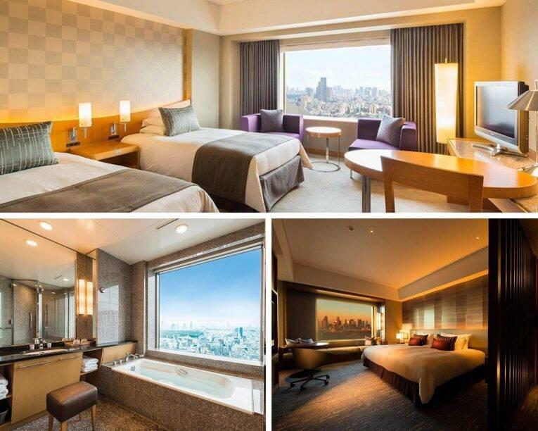 Suíte do Cerulean Tower Tokyu Hotel, um dos melhores hotéis em Tóquio.   Foto: divulgação