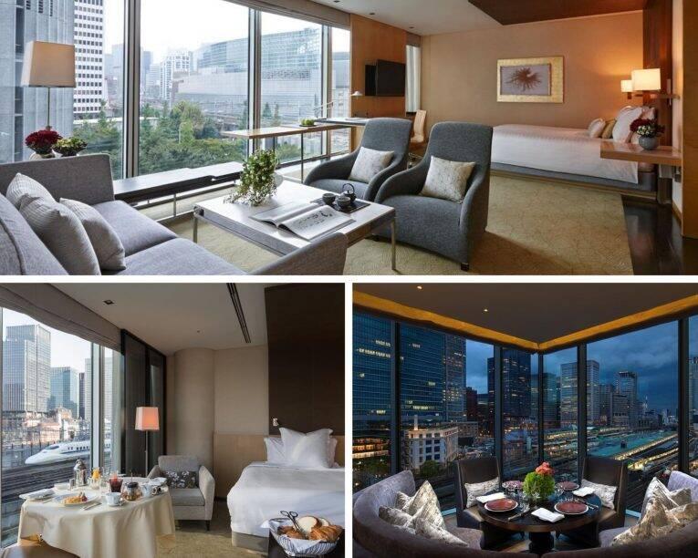 Suíte do Four Seasons Tokyo at Marunouchi. - hotéis de luxo em tóquio