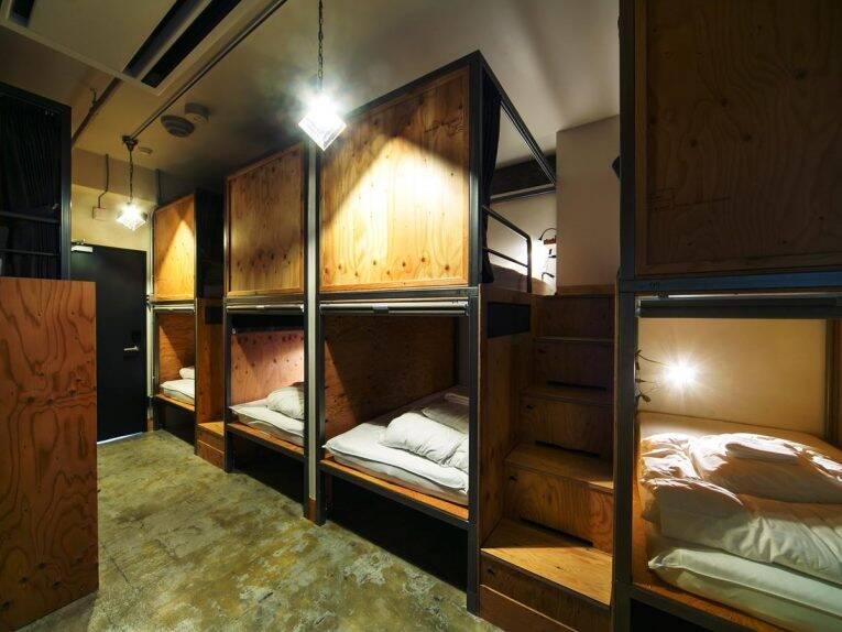 Quarto compartilhado do Wise Owl Hostel   melhores hostels em tóquio
