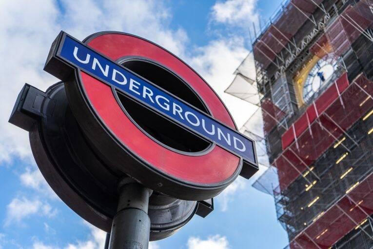 Metro e transporte público em Londres