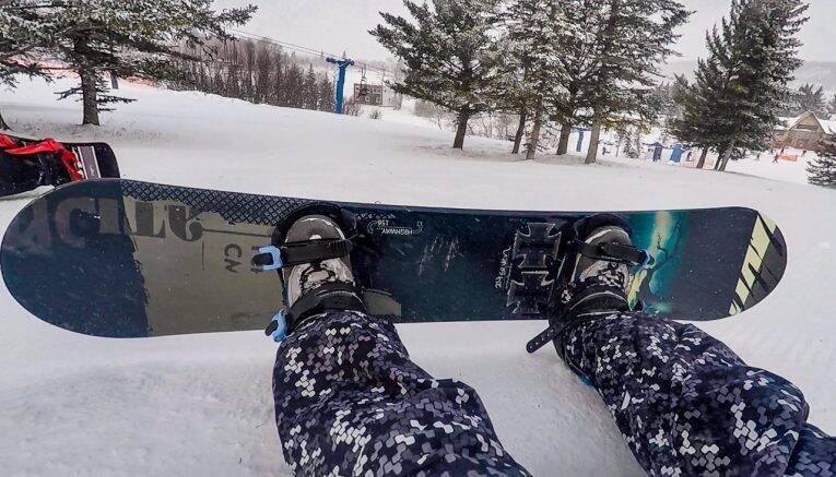 Snowboard no Canada
