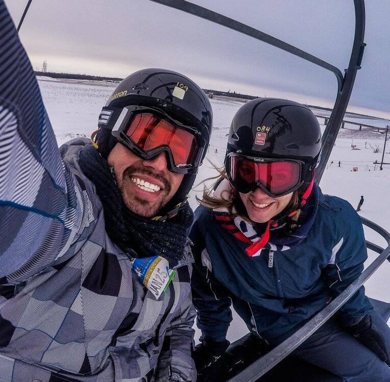Holiday Mountain Resort: Snowboard e ski no Canadá