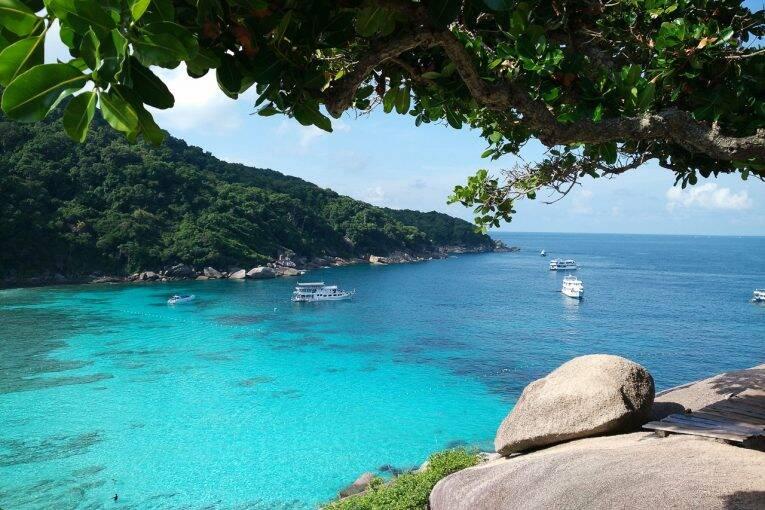 Similan Islands em Phuket, Tailândia. Roteiro 8 dias Tailândia