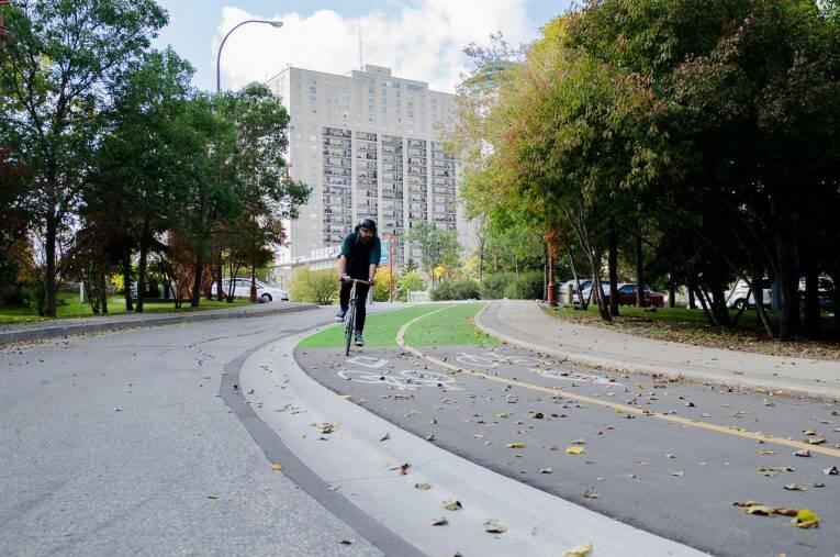 De bike em Winnipeg. Foto: Divulgação/The Forks