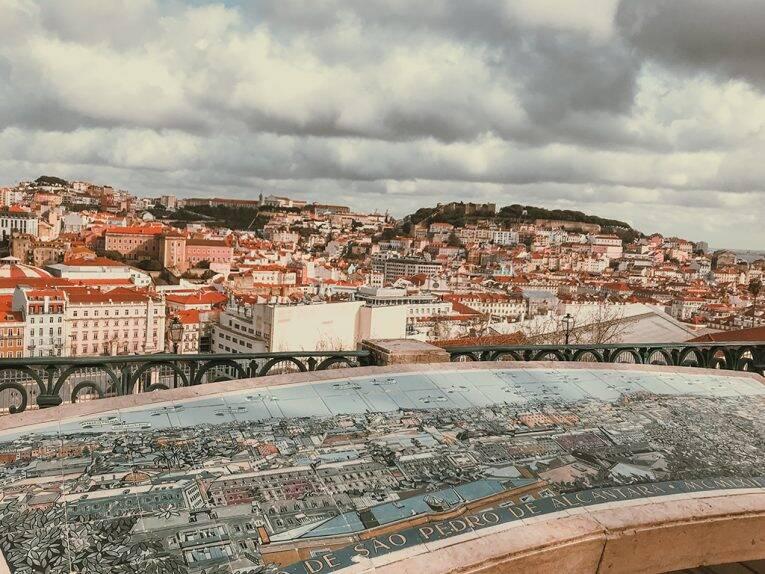 Mirantes em Lisboa: miradouros incríveis e gratuitos da capital de Portugal