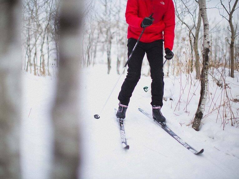 Cross country ski no Windsor Park em Winnipeg. | Tourism Winnipeg