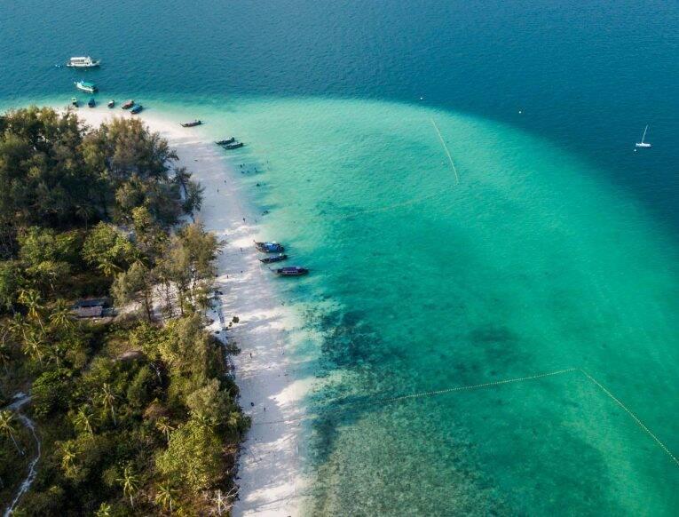Imagem de drone em Krabi