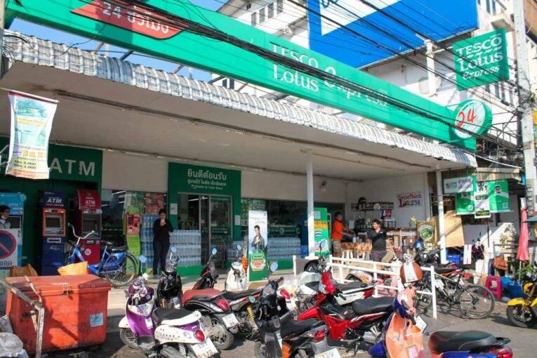 Estacionamento na Tailândia e Sudeste Asiático em geral