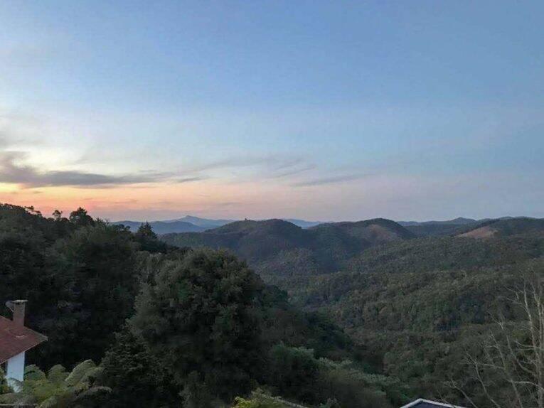 Vista maravilhosa da trilha que fizemos em São Lourenço.