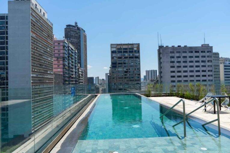 Airbnb centro SP com piscina