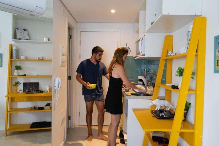 Aluguel de apartamento no centro de São Paulo