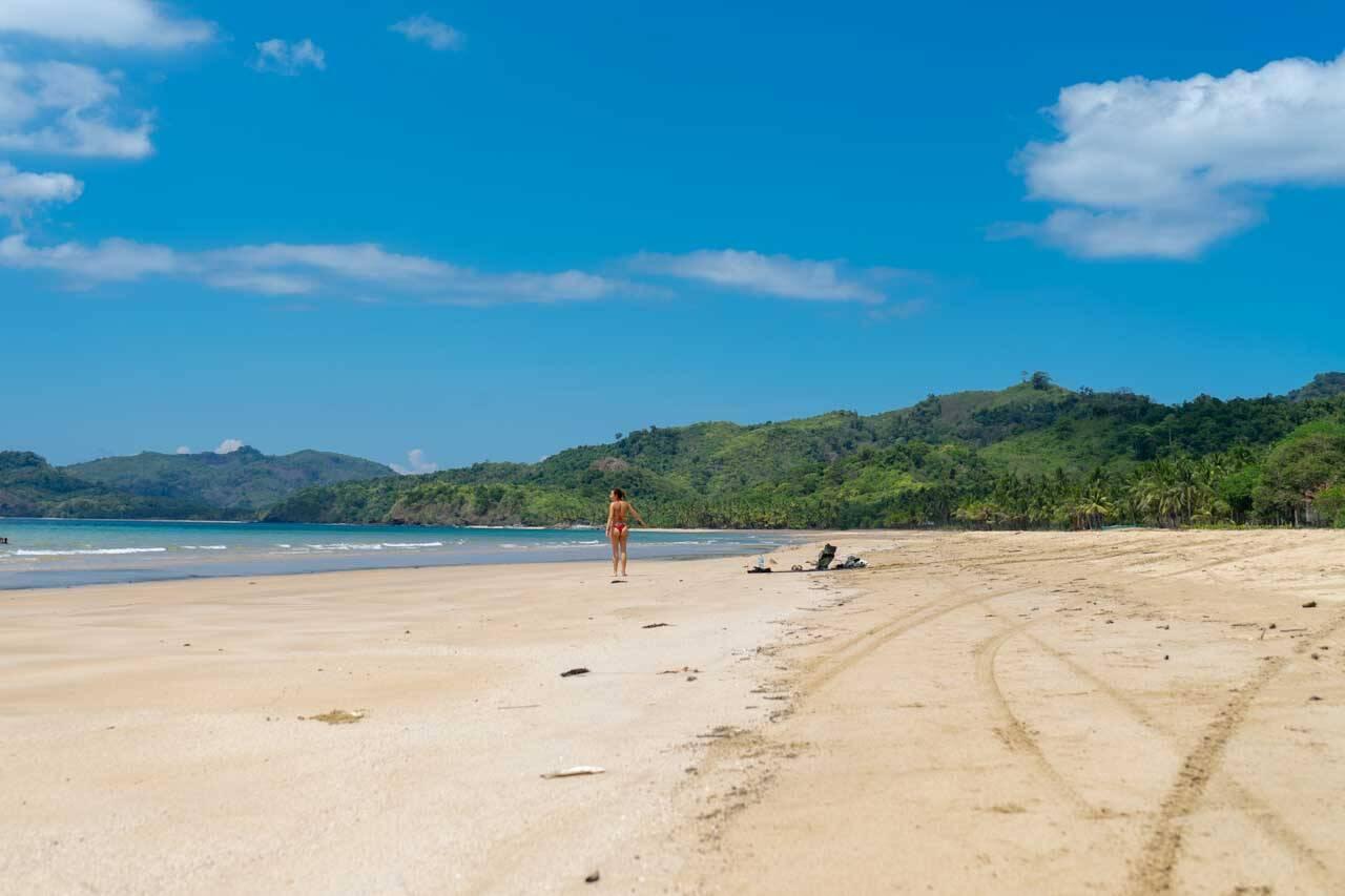 Curtindo a Duli beach em El Nido, Filipinas.