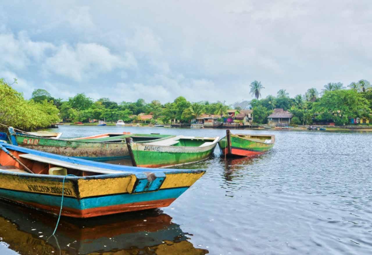 O tão famoso Rio Caraíva na Bahia.