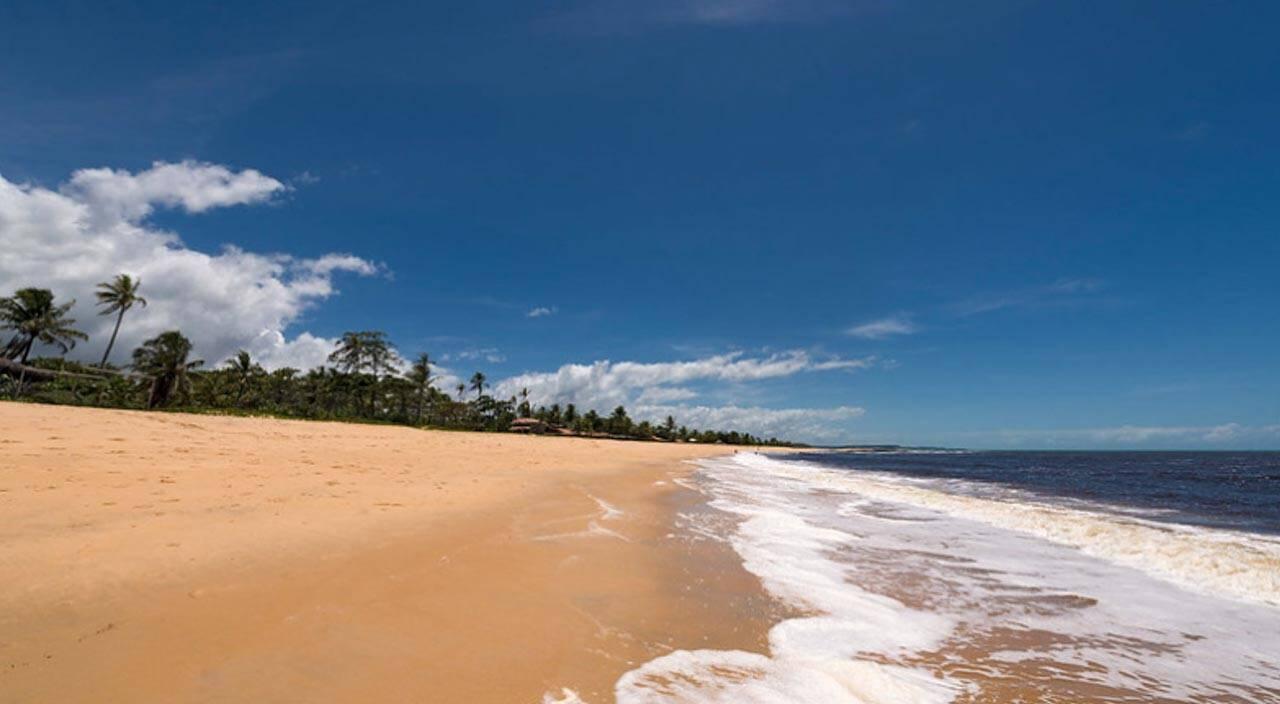 Praia de Caraíva, Nordeste Brasileiro.