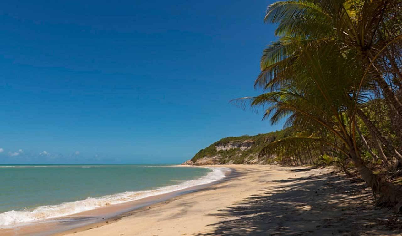 Praia do Espelho, perto de Caraíva.
