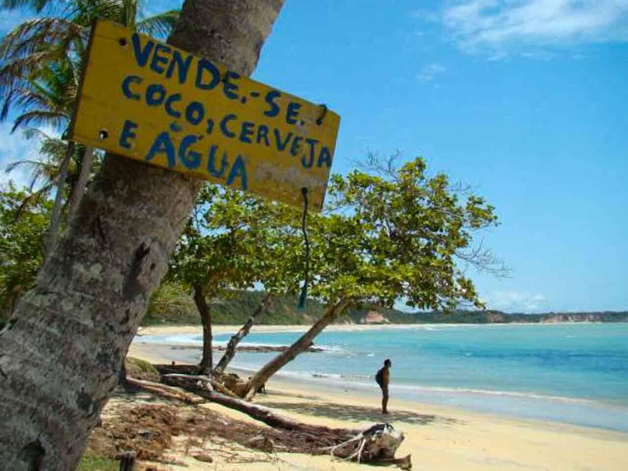 Praia do Satu em Caraíva, um paraíso na Bahia!