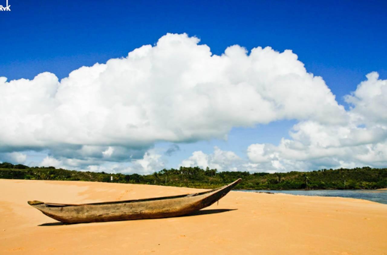 O Rio Caraíva é fotogênico DEMAIS, não?