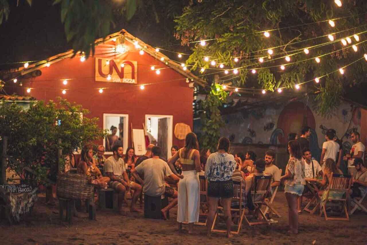 Restaurante UNA na Bahia.