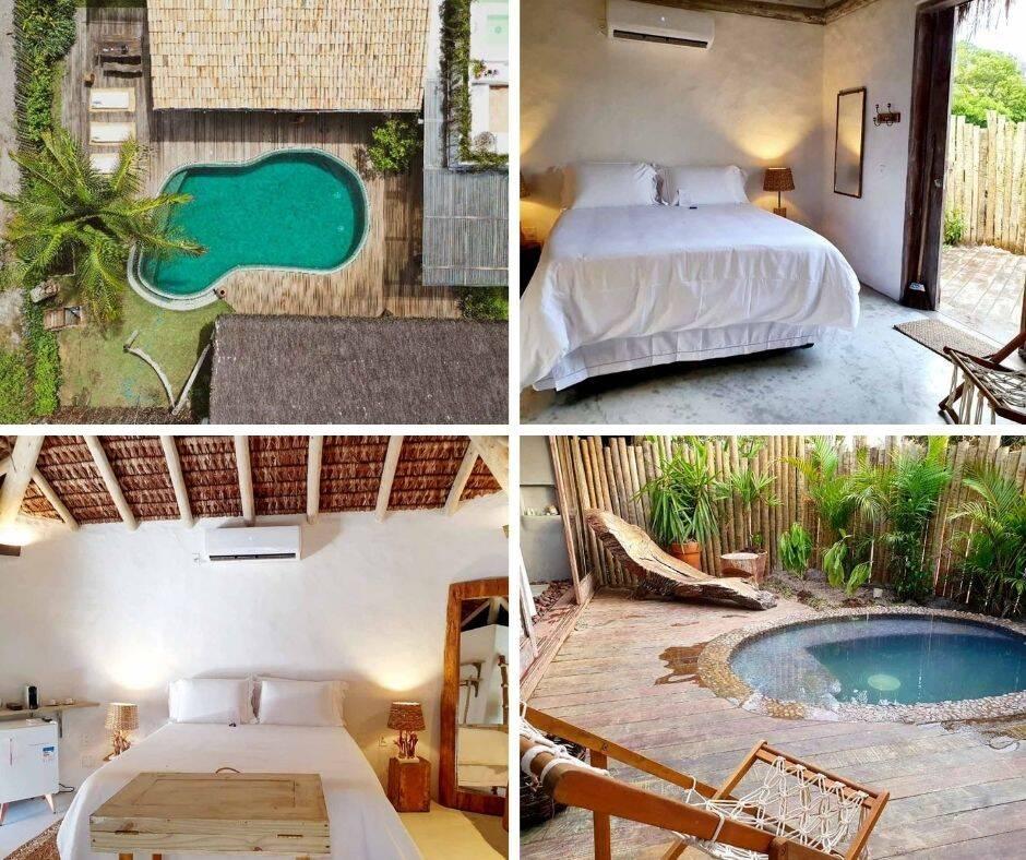 Pousada de luxo em Caraíva: Villa Fulô.