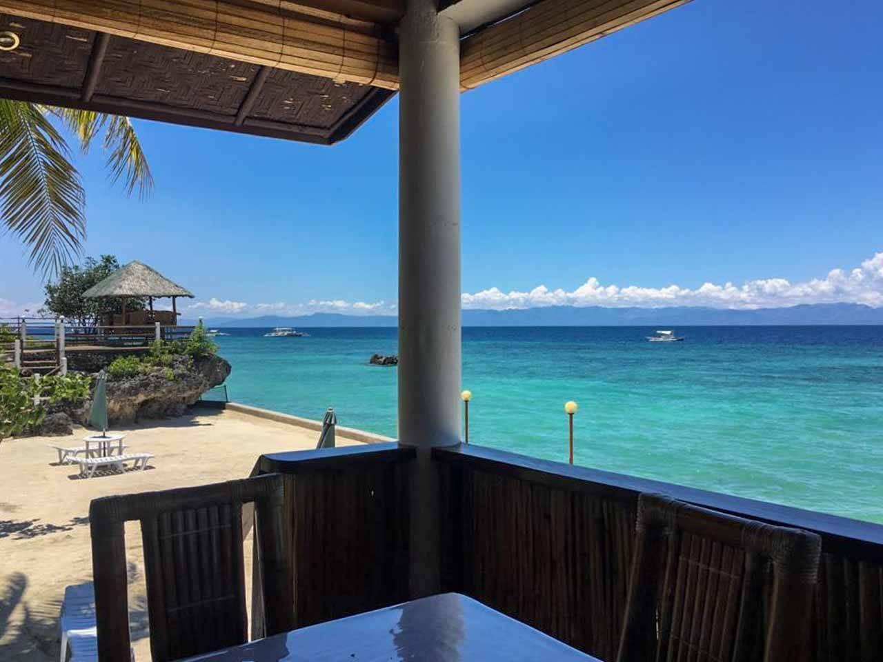 Tauif beach resort ao sul de Cebu, Filipinas.