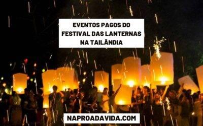 Eventos pagos para comemorar o Festival das Lanternas em Chiang Mai, Tailândia