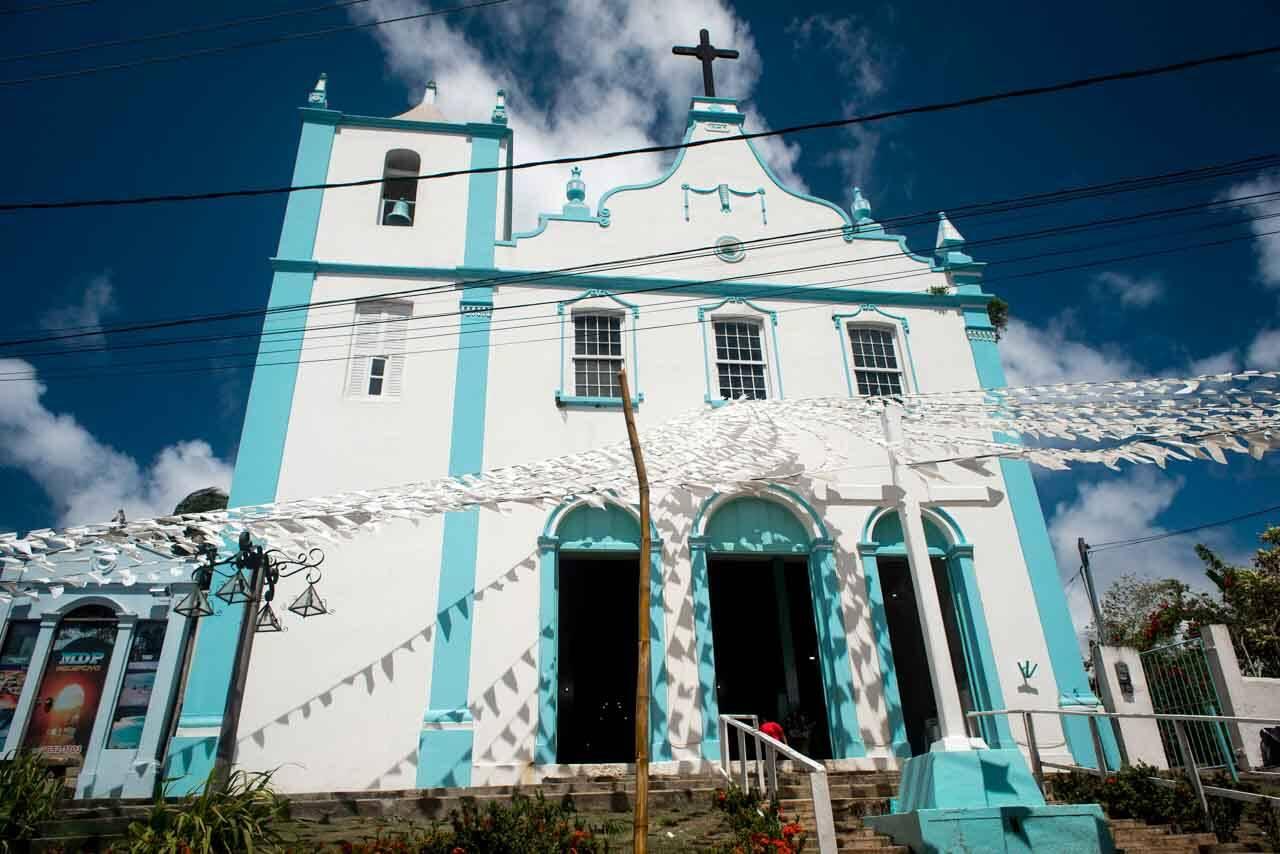 Igrejinha em Morro de São Paulo.