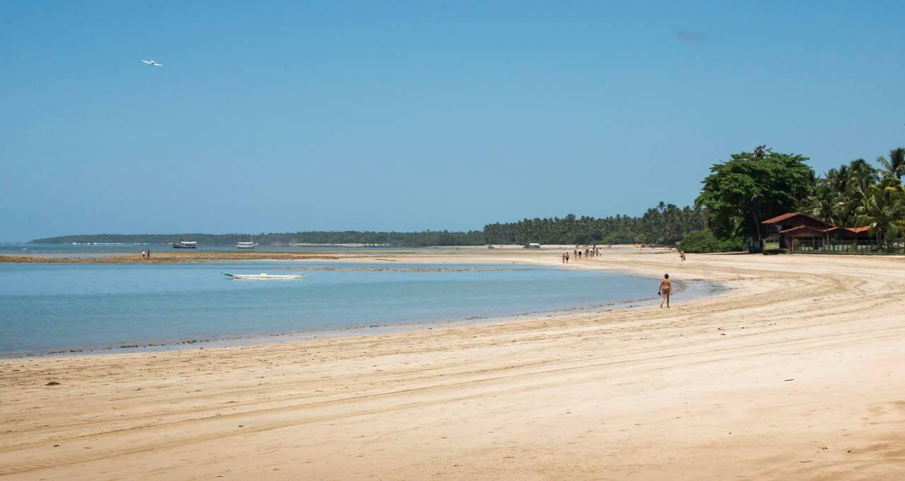 Quarta e Quinta Praia em Morro de São Paulo Bahia Brasil