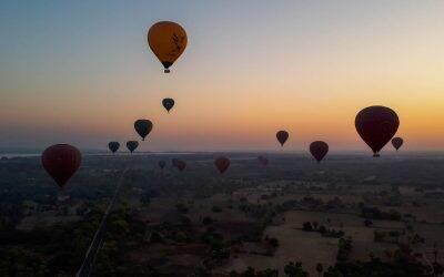 Balão em Bagan no Myanmar: como é a experiência? Vale a pena?