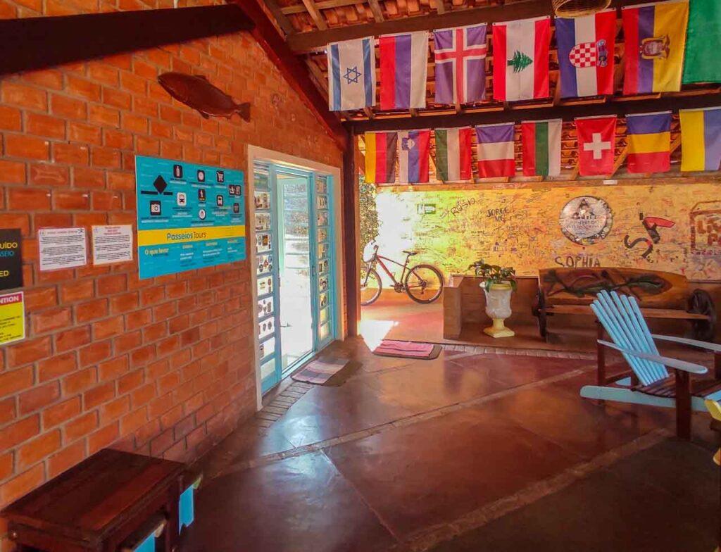 HI Hostel Bonito - um lugar para se hospedar e ficar em Bonito
