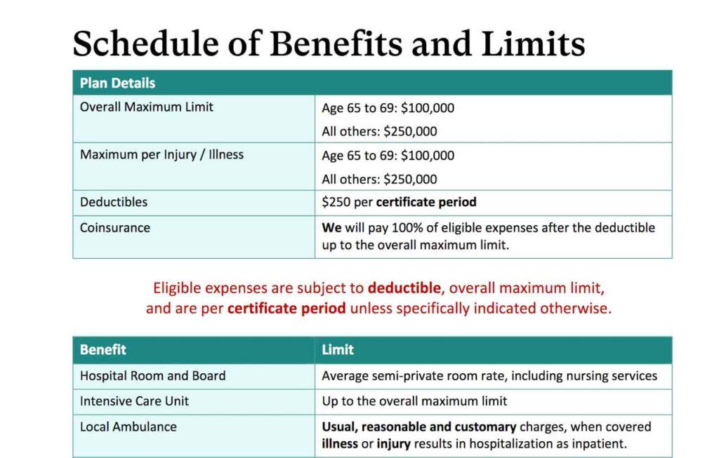 SafetyWing - valor das coberturas do seguro viagem